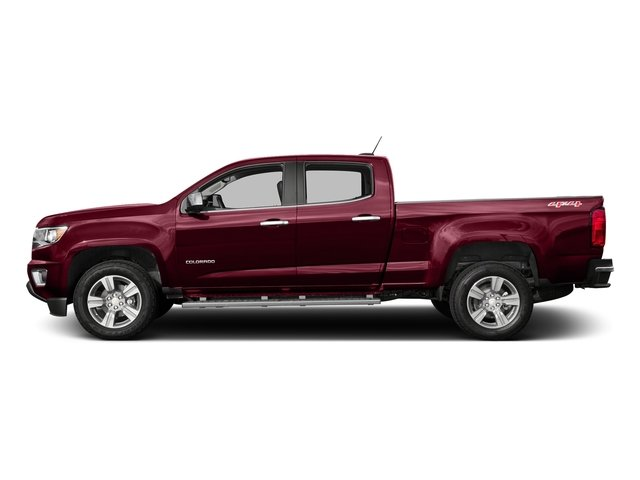 Red Rock Metallic 2016 Chevrolet Colorado Pictures Colorado Crew Cab LT 4WD T-Diesel photos side view