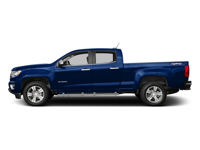 Laser Blue 2016 Chevrolet Colorado Pictures Colorado Crew Cab LT 4WD T-Diesel photos side view