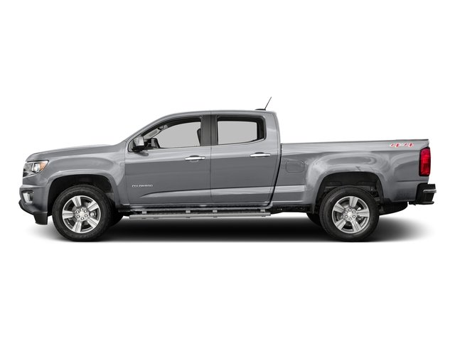 Silver Ice Metallic 2016 Chevrolet Colorado Pictures Colorado Crew Cab Z71 4WD photos side view
