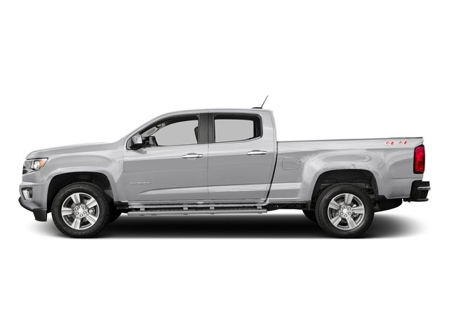 Summit White 2016 Chevrolet Colorado Pictures Colorado Crew Cab Z71 4WD photos side view