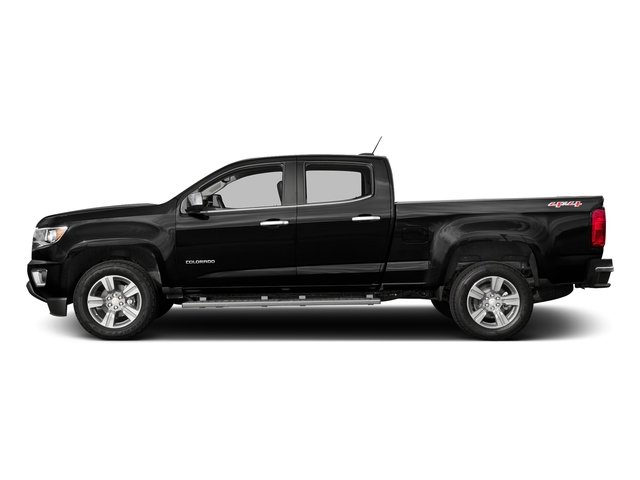 Black 2016 Chevrolet Colorado Pictures Colorado Crew Cab Z71 4WD photos side view