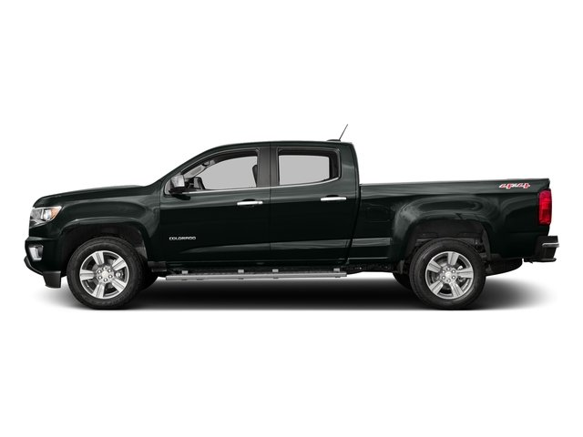 Cyber Gray Metallic 2016 Chevrolet Colorado Pictures Colorado Crew Cab LT 4WD T-Diesel photos side view
