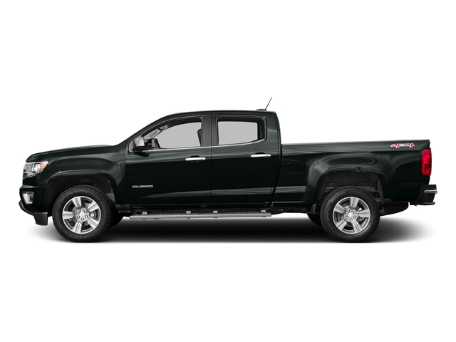 Cyber Gray Metallic 2016 Chevrolet Colorado Pictures Colorado Crew Cab Z71 4WD photos side view