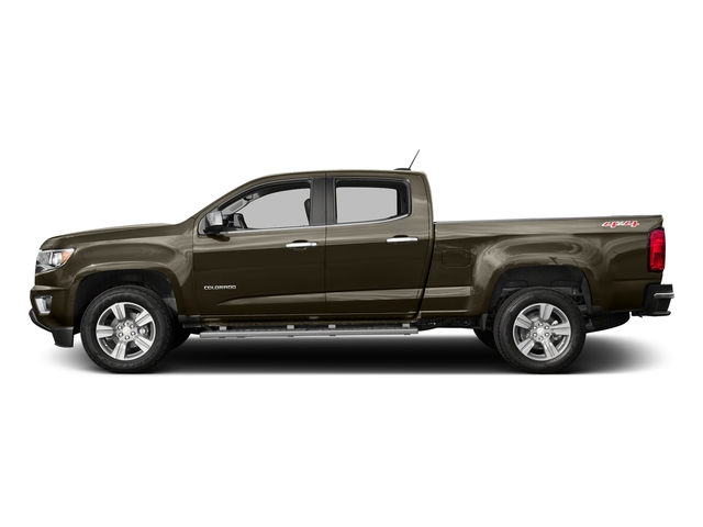 Brownstone Metallic 2016 Chevrolet Colorado Pictures Colorado Crew Cab Z71 4WD photos side view