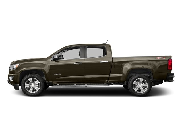 Brownstone Metallic 2016 Chevrolet Colorado Pictures Colorado Crew Cab LT 4WD T-Diesel photos side view