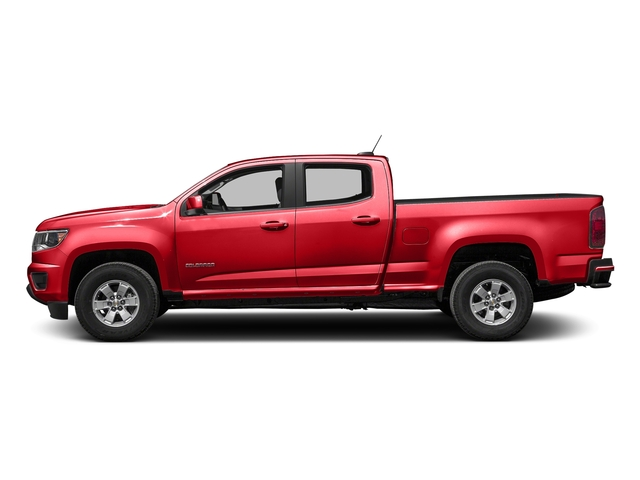 Red Hot 2016 Chevrolet Colorado Pictures Colorado Crew Cab Work Truck 2WD T-Diesel photos side view