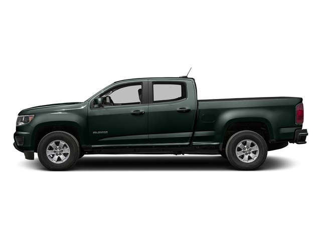 Rainforest Green Metallic 2016 Chevrolet Colorado Pictures Colorado Crew Cab Work Truck 2WD T-Diesel photos side view
