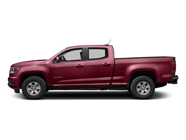 Red Rock Metallic 2016 Chevrolet Colorado Pictures Colorado Crew Cab Work Truck 2WD T-Diesel photos side view