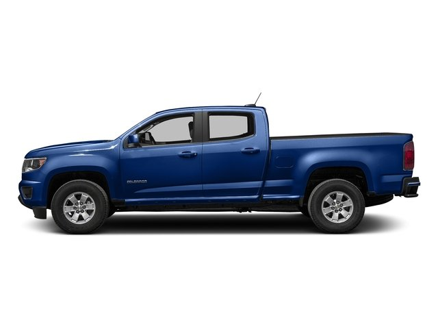 Laser Blue 2016 Chevrolet Colorado Pictures Colorado Crew Cab Work Truck 2WD T-Diesel photos side view