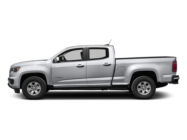 Silver Ice Metallic 2016 Chevrolet Colorado Pictures Colorado Crew Cab Work Truck 2WD T-Diesel photos side view