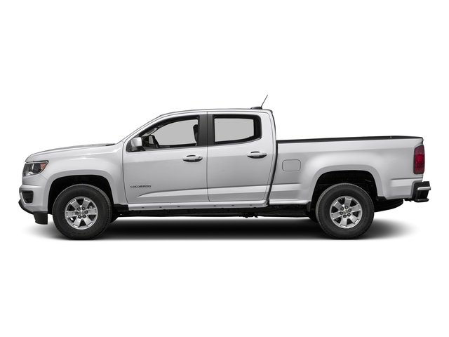 Summit White 2016 Chevrolet Colorado Pictures Colorado Crew Cab Work Truck 2WD T-Diesel photos side view