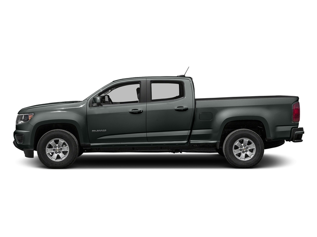 Cyber Gray Metallic 2016 Chevrolet Colorado Pictures Colorado Crew Cab Work Truck 2WD T-Diesel photos side view