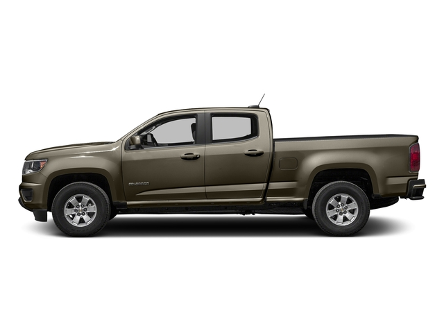 Brownstone Metallic 2016 Chevrolet Colorado Pictures Colorado Crew Cab Work Truck 2WD T-Diesel photos side view