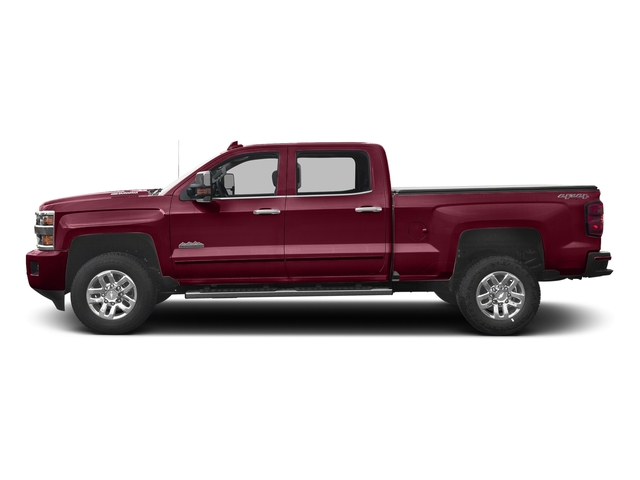 Butte Red Metallic 2016 Chevrolet Silverado 3500HD Pictures Silverado 3500HD Crew Cab High Country 2WD photos side view