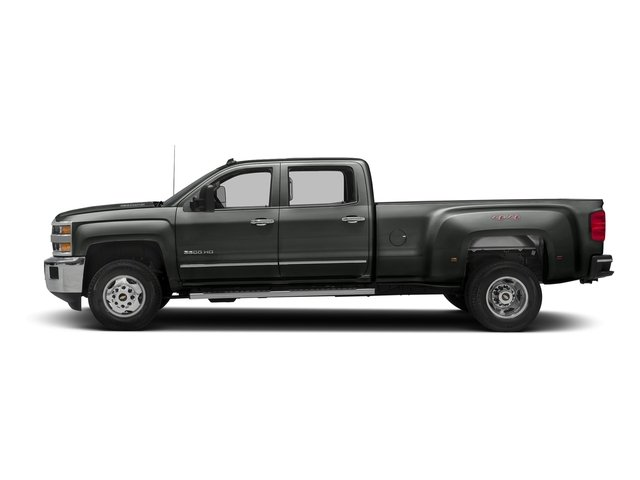 Slate Grey Metallic 2016 Chevrolet Silverado 3500HD Pictures Silverado 3500HD Crew Cab Work Truck 4WD photos side view