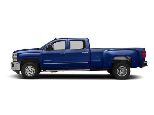 Deep Ocean Blue Metallic 2016 Chevrolet Silverado 3500HD Pictures Silverado 3500HD Crew Cab Work Truck 4WD photos side view