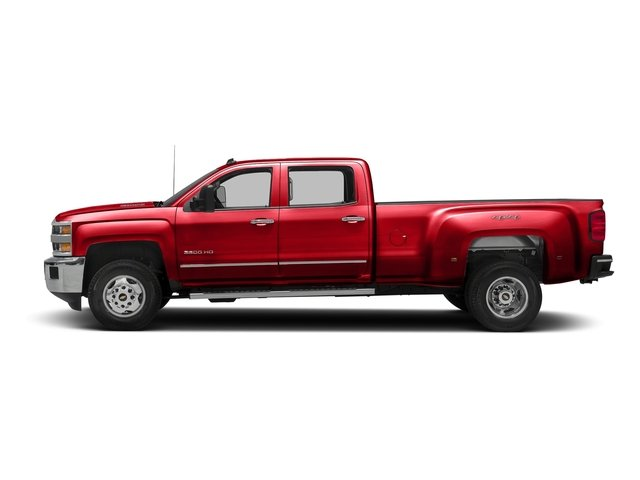 Red Hot 2016 Chevrolet Silverado 3500HD Pictures Silverado 3500HD Crew Cab Work Truck 4WD photos side view