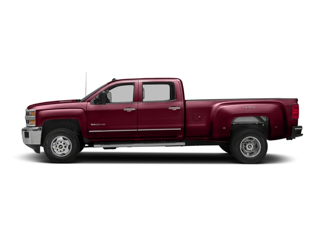 Butte Red Metallic 2016 Chevrolet Silverado 3500HD Pictures Silverado 3500HD Crew Cab Work Truck 4WD photos side view
