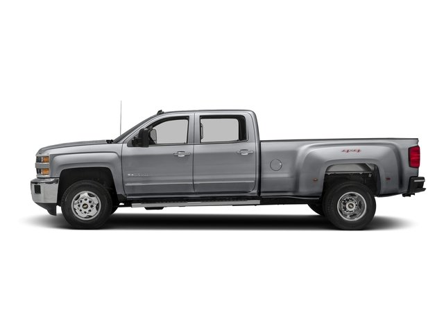 Silver Ice Metallic 2016 Chevrolet Silverado 3500HD Pictures Silverado 3500HD Crew Cab Work Truck 4WD photos side view