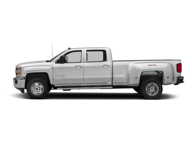Summit White 2016 Chevrolet Silverado 3500HD Pictures Silverado 3500HD Crew Cab Work Truck 4WD photos side view