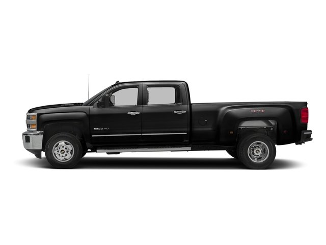 Black 2016 Chevrolet Silverado 3500HD Pictures Silverado 3500HD Crew Cab Work Truck 4WD photos side view