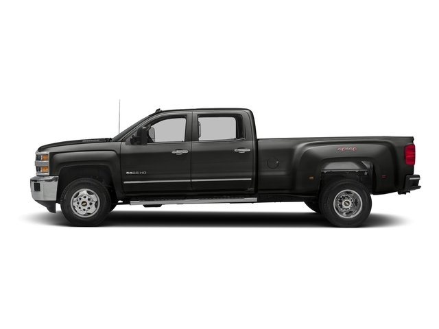 Tungsten Metallic 2016 Chevrolet Silverado 3500HD Pictures Silverado 3500HD Crew Cab Work Truck 4WD photos side view