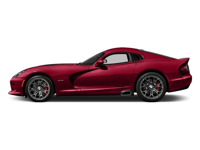 Adrenaline Red 2016 Dodge Viper Pictures Viper 2 Door Coupe photos side view