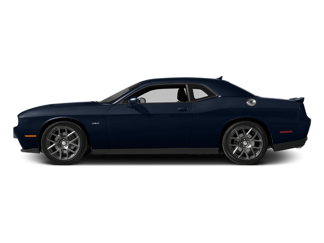 Jazz Blue Pearlcoat 2016 Dodge Challenger Pictures Challenger Coupe 2D R/T Plus V8 photos side view