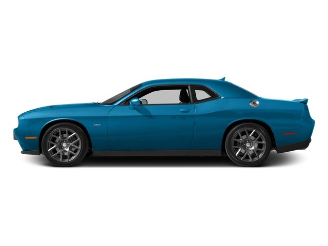 B5 Blue Pearlcoat 2016 Dodge Challenger Pictures Challenger Coupe 2D R/T Plus V8 photos side view