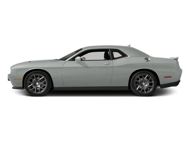 Bright White Clearcoat 2016 Dodge Challenger Pictures Challenger Coupe 2D R/T V8 photos side view