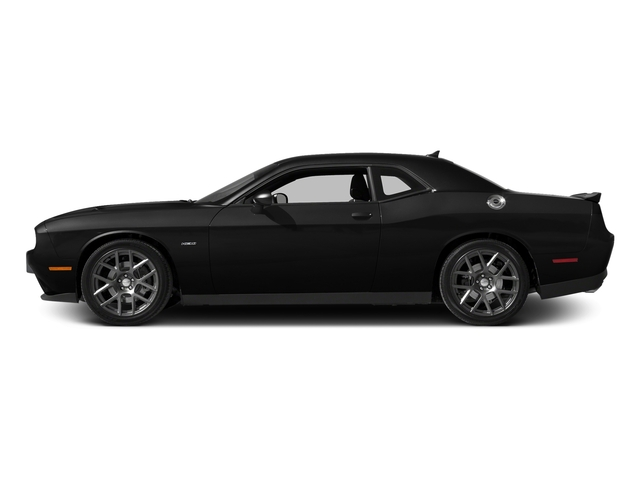 Pitch Black Clearcoat 2016 Dodge Challenger Pictures Challenger Coupe 2D R/T Plus V8 photos side view