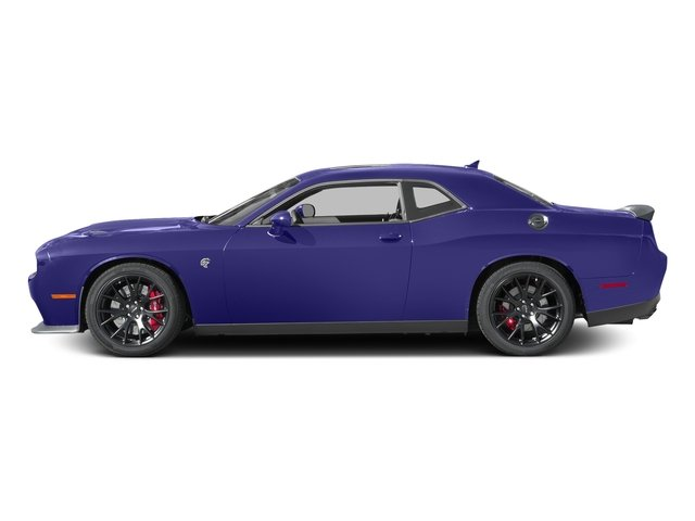 Plum Crazy Pearlcoat 2016 Dodge Challenger Pictures Challenger Coupe 2D SRT Hellcat V8 Supercharged photos side view