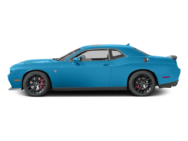B5 Blue Pearlcoat 2016 Dodge Challenger Pictures Challenger Coupe 2D SRT Hellcat V8 Supercharged photos side view