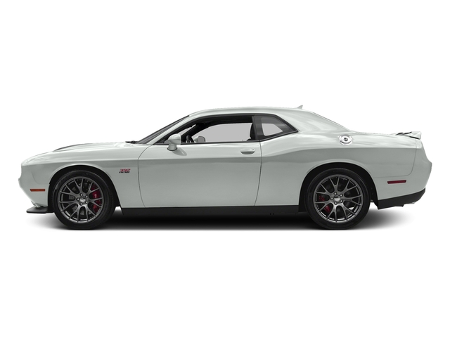 Bright White Clearcoat 2016 Dodge Challenger Pictures Challenger Coupe 2D SRT 392 V8 photos side view