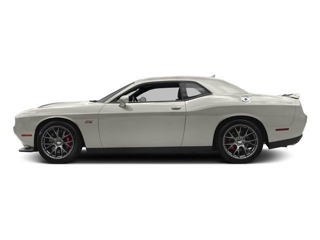 Ivory White Tri-Coat Pearl 2016 Dodge Challenger Pictures Challenger Coupe 2D SRT 392 V8 photos side view