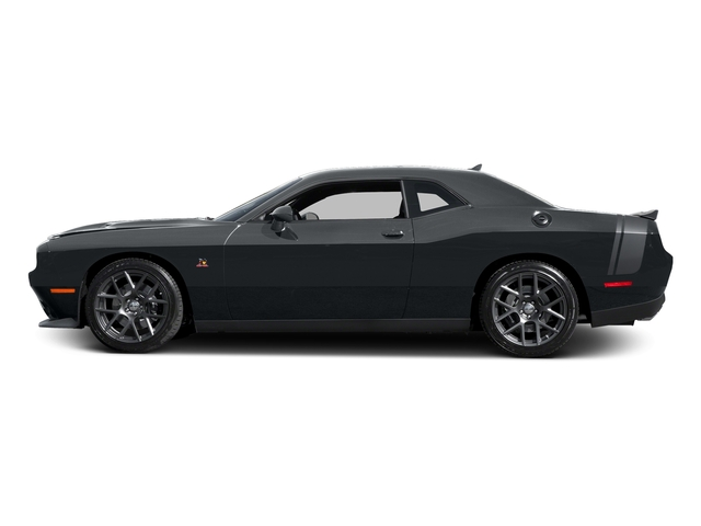 Maximum Steel Metallic Clearcoat 2016 Dodge Challenger Pictures Challenger Coupe 2D R/T Scat Pack V8 photos side view