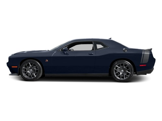 Jazz Blue Pearlcoat 2016 Dodge Challenger Pictures Challenger Coupe 2D R/T Scat Pack V8 photos side view