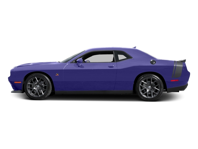 Plum Crazy Pearlcoat 2016 Dodge Challenger Pictures Challenger Coupe 2D R/T Scat Pack V8 photos side view
