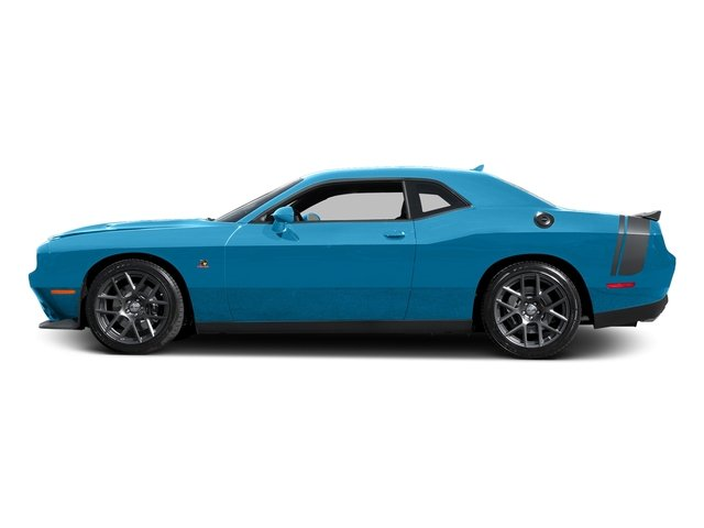 B5 Blue Pearlcoat 2016 Dodge Challenger Pictures Challenger Coupe 2D R/T Scat Pack V8 photos side view