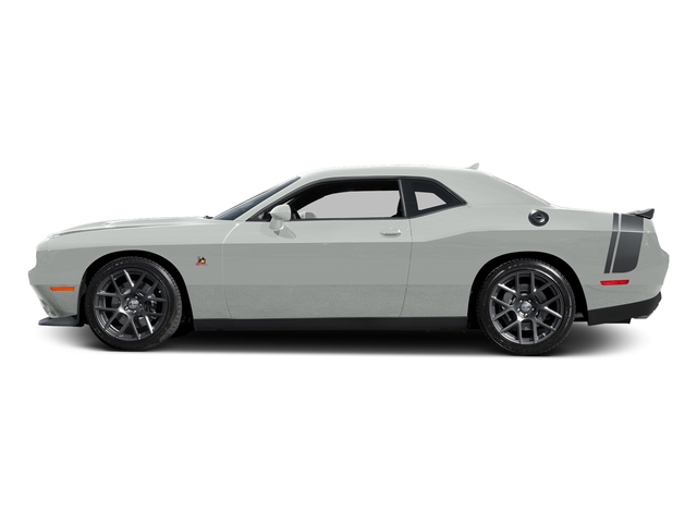 Bright White Clearcoat 2016 Dodge Challenger Pictures Challenger Coupe 2D R/T Scat Pack V8 photos side view