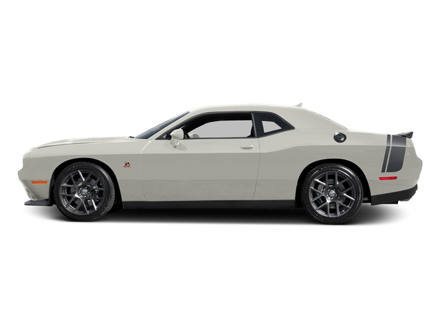 Ivory White Tri-Coat Pearl 2016 Dodge Challenger Pictures Challenger Coupe 2D R/T Scat Pack V8 photos side view