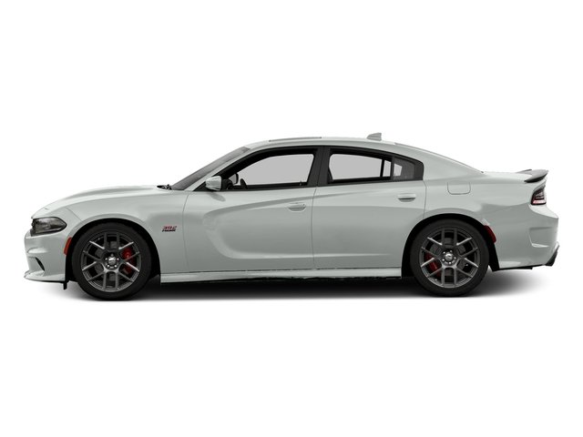 Bright White Clearcoat 2016 Dodge Charger Pictures Charger Sedan 4D R/T Scat Pack V8 photos side view