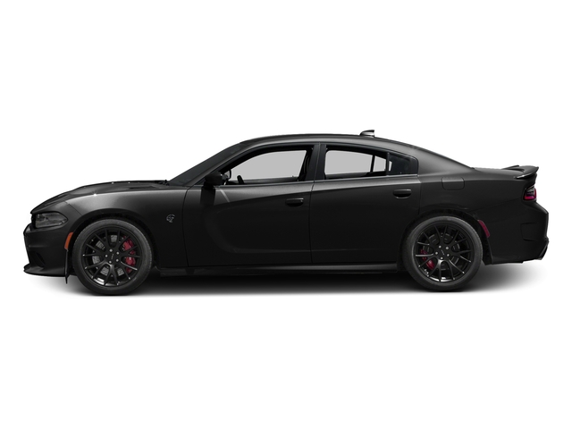 Pitch Black Clearcoat 2016 Dodge Charger Pictures Charger Sedan 4D SRT Hellcat V8 Supercharged photos side view