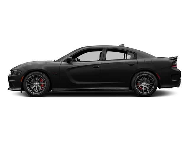 Pitch Black Clearcoat 2016 Dodge Charger Pictures Charger Sedan 4D SRT 392 V8 photos side view