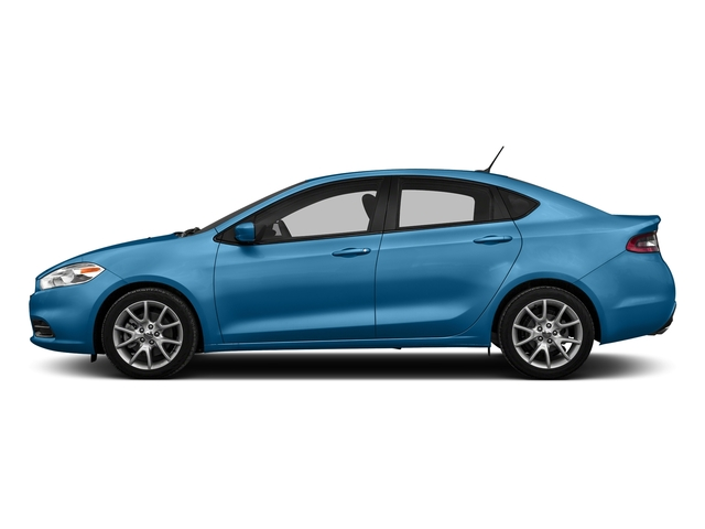Laser Blue Pearlcoat 2016 Dodge Dart Pictures Dart Sedan 4D SE I4 photos side view