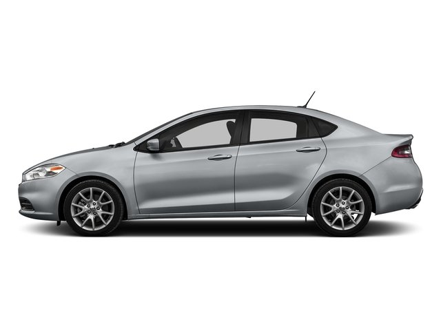 Billet Silver Metallic Clearcoat 2016 Dodge Dart Pictures Dart Sedan 4D SE I4 photos side view