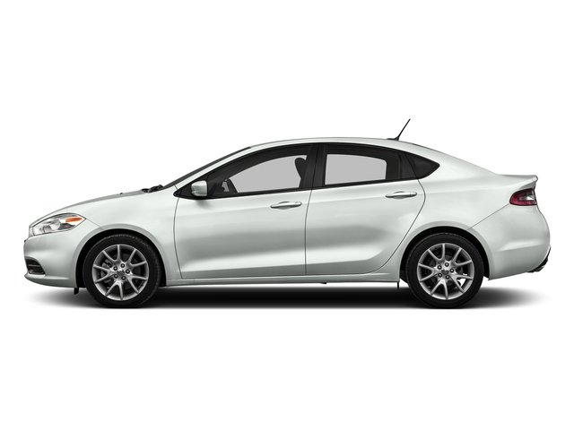 Bright White Clearcoat 2016 Dodge Dart Pictures Dart Sedan 4D SE I4 photos side view