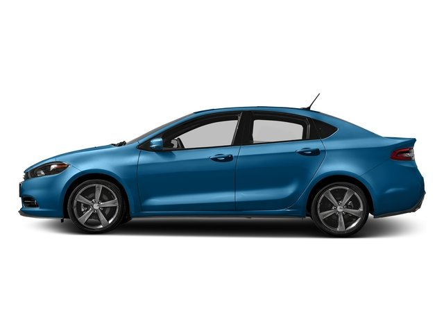 Laser Blue Pearlcoat 2016 Dodge Dart Pictures Dart Sedan 4D GT I4 photos side view