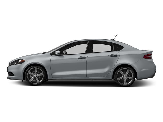 Billet Silver Metallic Clearcoat 2016 Dodge Dart Pictures Dart Sedan 4D GT I4 photos side view