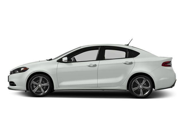 Bright White Clearcoat 2016 Dodge Dart Pictures Dart Sedan 4D GT I4 photos side view